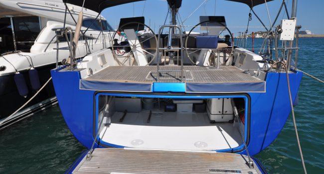Hanse 54 Tukan Velero Ibiza Rental Barcoibiza