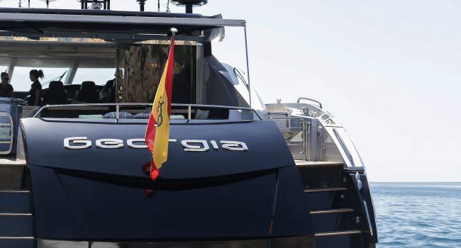 Sunseeker Predator 82 Georgia Luxury Yacht Ibiza Charter