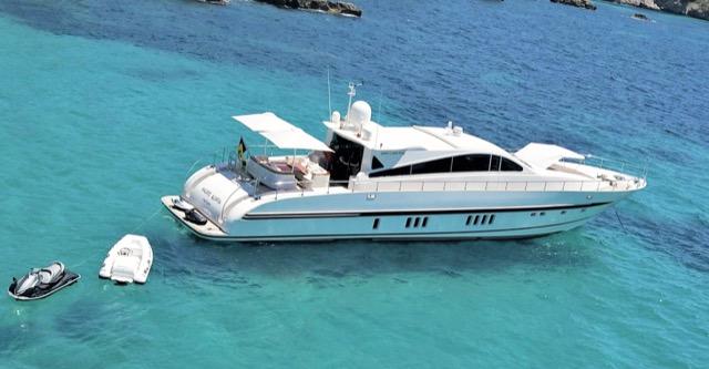 Yacht Leopard 27 Churri Ibiza Charter