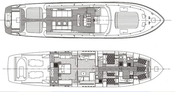 Leopard 27 Cita Layouy - Interior