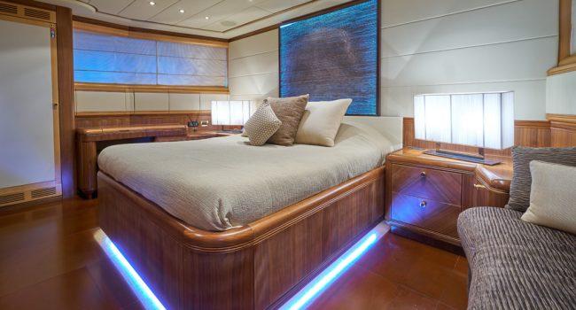 Mangusta 130 Shane Interior 04 VIP Cabin-02