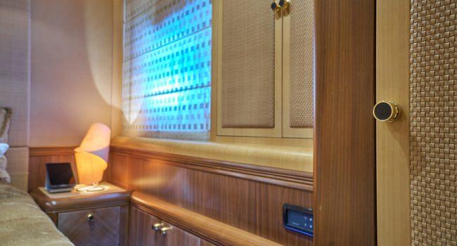Mangusta 130 Shane Interior 05 Double Cabin-03