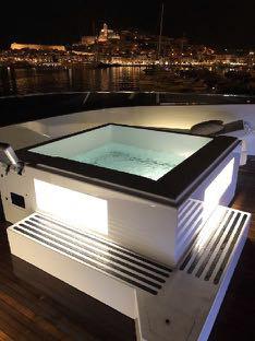 Superyacht Ibiza Rental Villa Sul Mare Jacuzzi