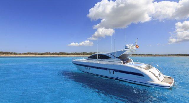Yacht Mangusta 72 Gaia Sofía Ibiza Rental Yacht Barcoibiza-1
