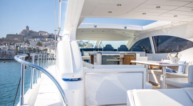 Yacht Mangusta 72 Gaia Sofía Ibiza Rental Yacht Barcoibiza-11