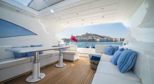 Yacht Mangusta 72 Gaia Sofía Ibiza Rental Yacht Barcoibiza-13