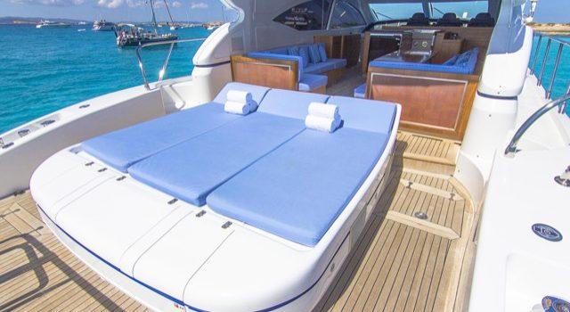 Yacht Mangusta 72 Gaia Sofía Ibiza Rental Yacht Barcoibiza-19