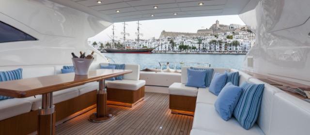 Yacht Mangusta 72 Gaia Sofía Ibiza Rental Yacht Barcoibiza-22