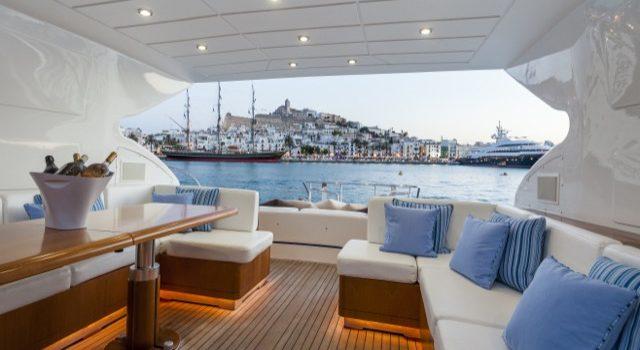 Yacht Mangusta 72 Gaia Sofía Ibiza Rental Yacht Barcoibiza-23