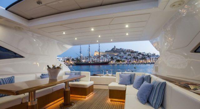 Yacht Mangusta 72 Gaia Sofía Ibiza Rental Yacht Barcoibiza-24