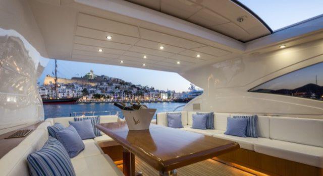 Yacht Mangusta 72 Gaia Sofía Ibiza Rental Yacht Barcoibiza-25