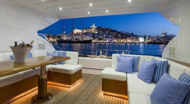 Yacht Mangusta 72 Gaia Sofía Ibiza Rental Yacht Barcoibiza-28
