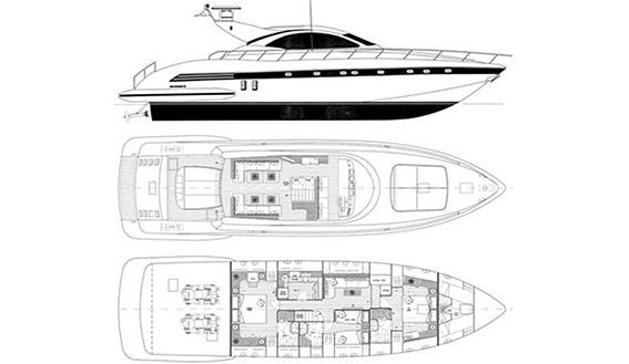 Yacht Mangusta 72 Gaia Sofía Ibiza Rental Yacht Barcoibiza-29