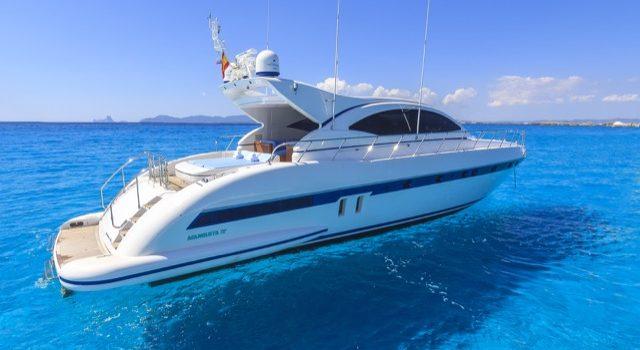 Yacht Mangusta 72 Gaia Sofía Ibiza Rental Yacht Barcoibiza-3