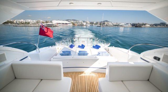 Yacht Mangusta 72 Gaia Sofía Ibiza Rental Yacht Barcoibiza-7