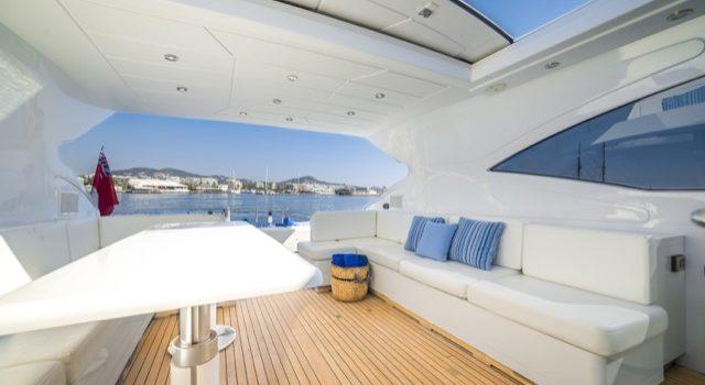 Yacht Mangusta 72 Gaia Sofía Ibiza Rental Yacht Barcoibiza-8