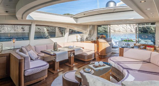 Alquiler Yate Mangusta 92 Five Star Luxury Yacht Ibiza Rental