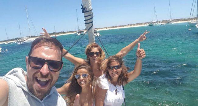 Velero alquiler en Ibiza días sueltos Sun Odyssey Virazón