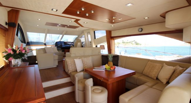 Yate Ibiza Sunseeker Manhattan 60 Flybridge Priska