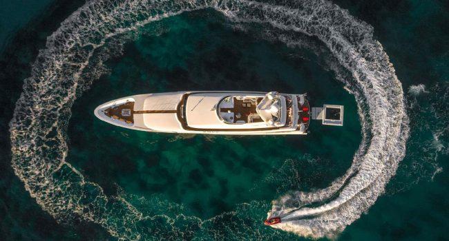 Megayate Lurssen 135 Pies 41 metros Ibiza Baleares